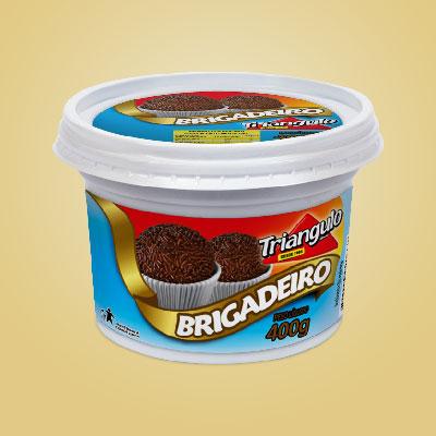 Doce Pastoso com Leite e Chocolate Triângulo Mineiro Pote 400g