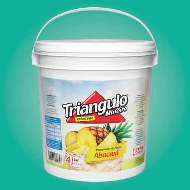 Preparado de Fruta Abacaxi Triângulo Mineiro Balde 4,1kg