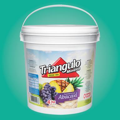 Preparado de Fruta Abacaxi ao Vinho Triângulo Mineiro Balde 4,1kg
