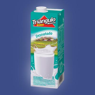Leite Desnatado UHT Triângulo Mineiro 1L