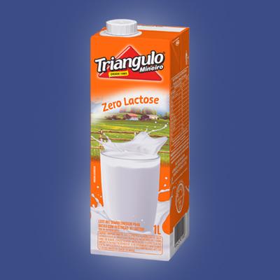 Leite Zero Lactose UHT Triângulo Mineiro 1L