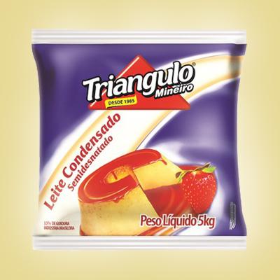 Leite Condensado Semidesnatado Triângulo Mineiro Bag 5kg